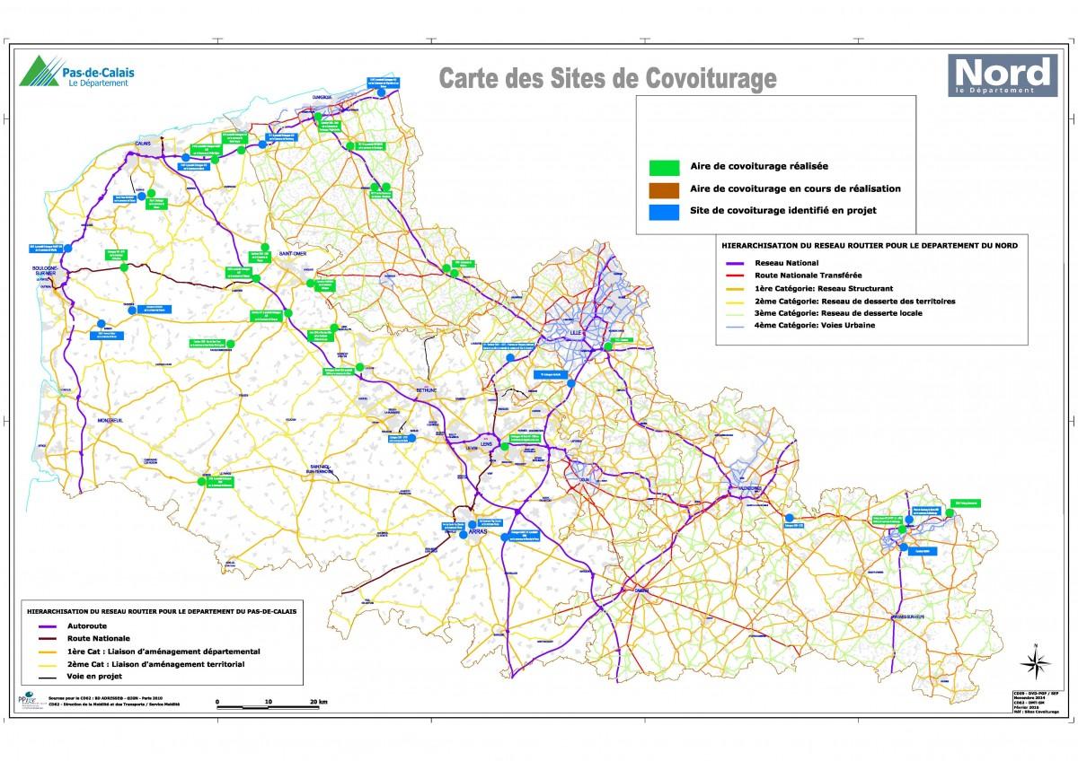 Image Le Schéma Interdépartemental de covoiturage