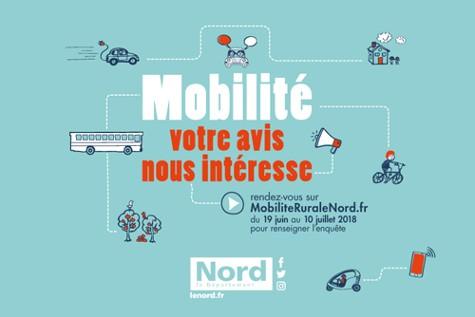 Image a la une Le Nord lance une enquête sur la mobilité en milieu rural