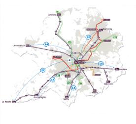 Carte réseau Transpole