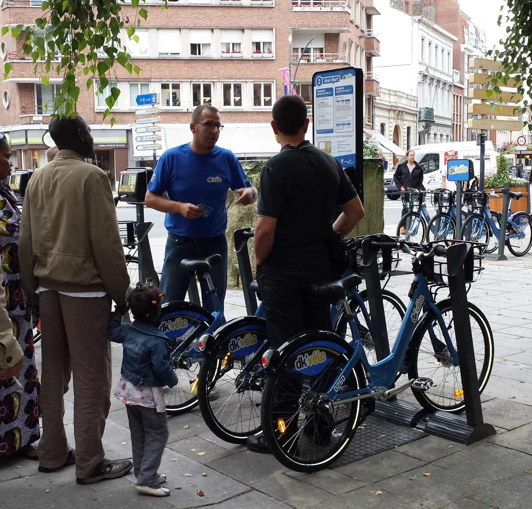 Image Les vélos en libre service