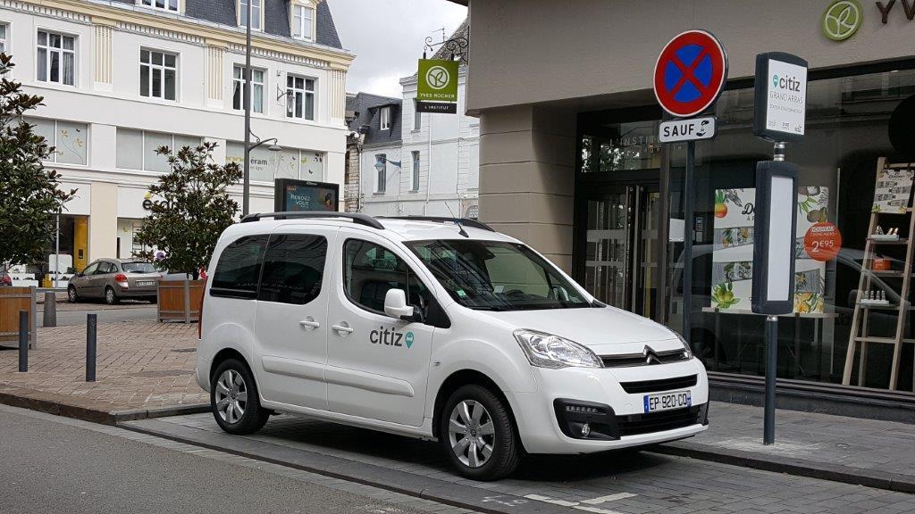 Image Avec le Syndicat Mixte Hauts-de-France Mobilités, l'autopartage arrive à Arras !